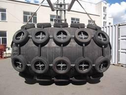 Кранец швартовый пневматический 2000×4000