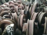 Крановое колесо двухребордное К2Р - фото 2