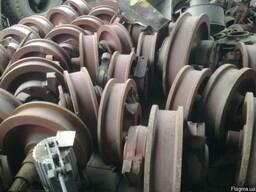 Крановое колесо двухребордное К2Р