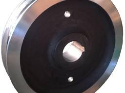 Крановые колеса К2Р двухребордные