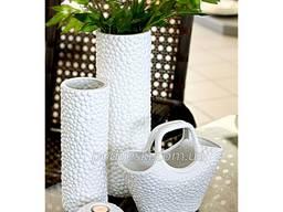 Красиві керамічні вази, декор - оригінальний подарунок. Зі с