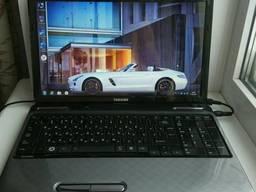 Красивый, игровой ноутбук Toshiba Satellite L755D.
