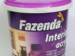 Краска акриловая для внутренних работ Фазенда