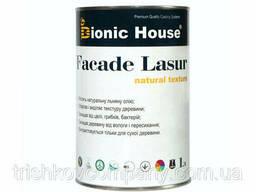 Краска для дерева Facade Lasur Bionic-House 1л Белый А101