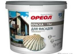 Краска для фасадов Ореол атмосферостойкая белая 13 кг