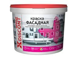 """Краска для фасадов Ореол """"Discont"""" атмосферостойкая, 6,5 кг"""