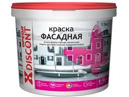 """Краска для фасадов Ореол """"Discont"""" атмосферостойкая, 13 кг"""