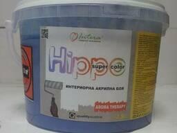 Краска для стен и потолков акриловая GBC Hippo Европа 10л