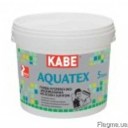 Краска для стен и потолков во влажных помещениях Aguatex 10л
