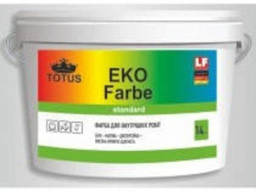 Краска для внутренних работ Totus ECO Farbe 3, 5 кг.