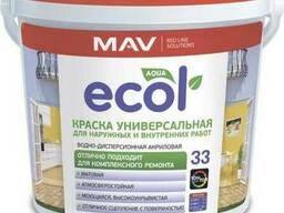 Краска ECOL 33 универсальная для наружных и внутренних работ