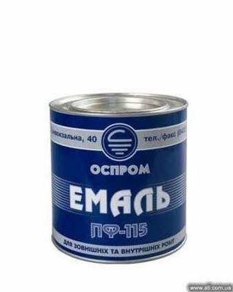 Краска Эмаль ПФ-115 от производителя