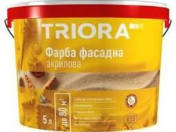 """Краска фасадная акриловая """"Triora"""" 10, 0 л"""
