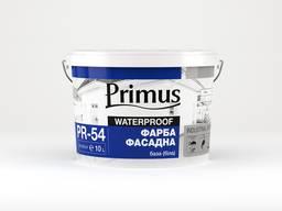 Краска фасадная акрилова Primus PR-54. база (белая) 20л