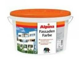 Краска фасадная в/д Alpina Expert Fassadenweiss B3 9, 4 л