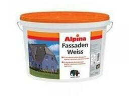 Краска фасадная в/д Alpina Expert Fassadenweiss B1 10 л