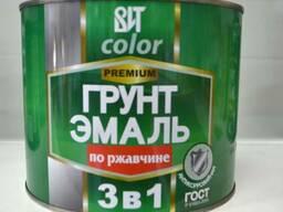 "Краска/Грунт -емаль ""3 в 1"""
