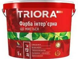 """Краска интерьерная моющаяся """"Triora"""" 10, 0 л"""