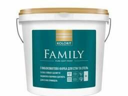 Краска Kolorit Family -Акция