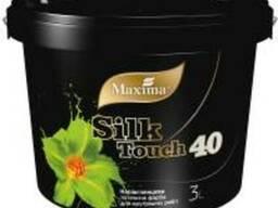 Краска латексная полуглянцевая Silk Touch 40 тм Maxima