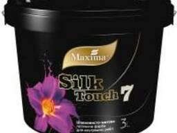 Краска латексная шелковисто-матовая Silk Touch 7 тм Maxima