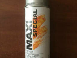 Краска Maxi Color термостойкая серебро