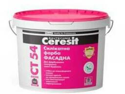 "Силикатная краска ""Ceresit"" СТ-54 базовая (10 л)"