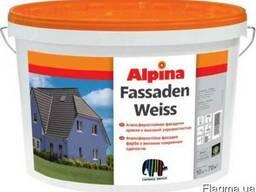 Краска в/д Alpina Еxpert фасадная Fassadenfarbe 10 л