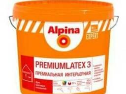 Краска в/д Alpina Expert интерьерная 3B1 Premiumlatex 10 л