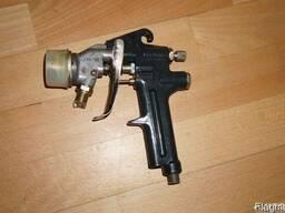 Краскораспылитель, краскопульт ручной пневматический КРП-10.