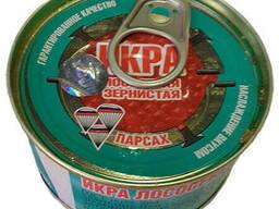 Красная лососевая икра горбуши Россия ТМ Парсах 140 грамм. ..