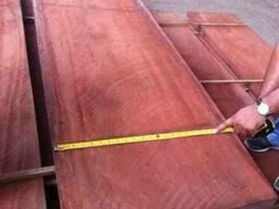 Красное дерево Махагони.Доска обрезная