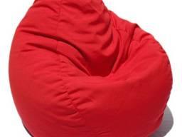 Красное кресло груша, кресло мешок