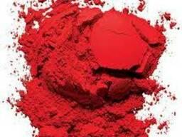 Красный пигмент, пигмент красный железоокисный