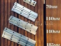 Крепеж змейка для фасадов и террас из дерева