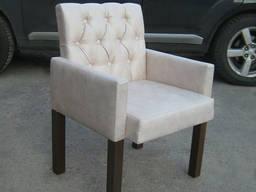 Кресла для кафе, ресторанов, баров с пуговицами