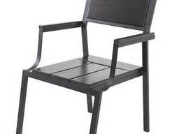 """Кресло для кафе Микс-Лайн """"Бристоль"""" Венге"""