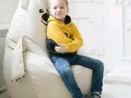 Кресло груша Мишка для детской