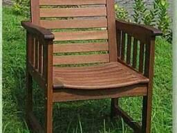 Кресло из мербау «Erica»