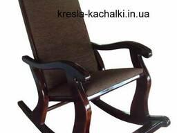 Кресло качалка из натурального дерева. Модель Classic 3-3