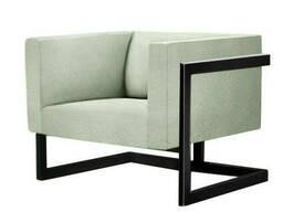 Кресло Кафка Waldberg мягкое в гостиную, кабинет, кафе Бук, до 110 кг, Белый