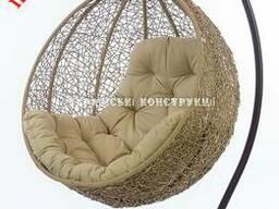 Подвесное кресло кокон - гарантия 3 года, садовые качели