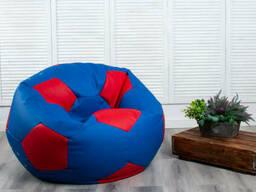 Крісло мішок М'яч Beans Bag з екошкіри діаметр 100 см