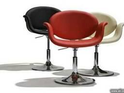 Кресло Студио белое, черное(Studio)