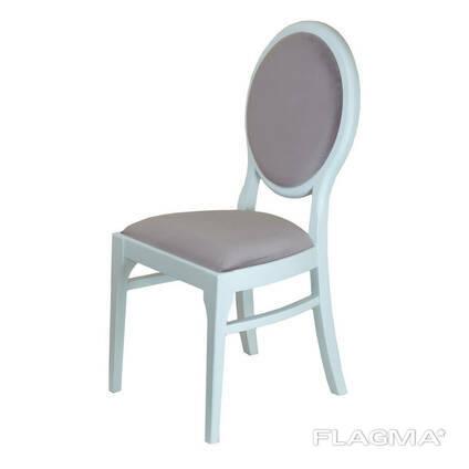 Кресло-стул Оскар Waldberg мягкое в гостиную, кабинет, кафе Бук, до 110 кг, Голубой
