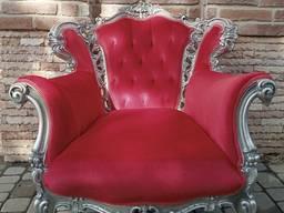 Кресло в стиле современное барокко