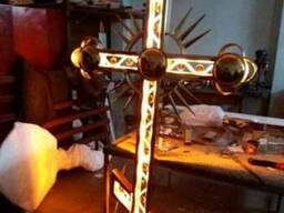 Крест с подсветкой