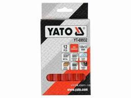 Крейда маркувальна для різних поверхонь YATO 120 x 12 мм 12 шт
