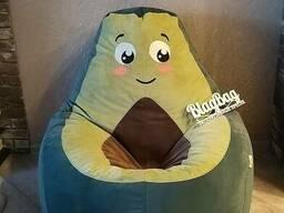 Кресло груша Авокадо из мебельной ткани