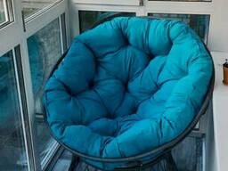 Кресло папасан для узкого балкона с шириной 100 см